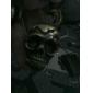 Unisex Alloy Analog Quartz Keychain Watch with Skull Heads (Bronze)