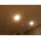 GU10 3W 150-180LM 2800-3200K Lämmin valkoinen LED spottilamppu (230V)