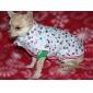 dubbele schedel patroon katoen gewatteerde jas voor honden en katten (xs-xxl)