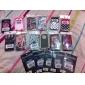 Etui Rigide Motif Lèvres Rouges pour iPhone 4/4S - Multicolore