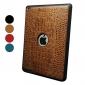Crocodile Skin PU Leather Case for iPad 2/3/4 (Assorted Colors)