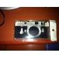 Retro Camera Pattern Mirror Hard Case for iPhone 4/4S