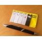Кролик стиль липкие блокноты набор (черный и белый)