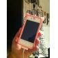 iPhone 4 ve 4S için Sevimli Domuz Tarzında Koruyucu Silikon Kılıf (Çeşitli Renklerde)