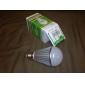 E26/E27 8 W 7 High Power LED 640 LM Warm White A Globe Bulbs AC 220-240 V
