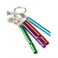 Long Slim Aluminum Keychain Whistle (Random Color)