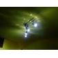 GU10 5W 450-500LM 5500-6500K 내츄럴 흰색 LED 스포트전구 (85-265V)
