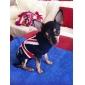 Свитер для собак с флагом Великобритании (XS-XL, синий)