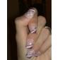 5x Practice Finger Training Display Nail Art Tool