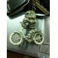 porte-clés en caoutchouc crâne frais (modèle aléatoire)