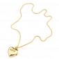Mulheres Relógio de Moda Quartzo Banda Heart Shape Dourada Dourado
