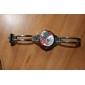 Montre-Bracelet pour Femme à Quartz, Bracelet en Alliage