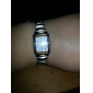 Mulheres Relógio Elegante Bracele Relógio Quartzo Lega Banda Prata