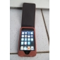 Premium PU Leather Case for iTouch 4 - Coffee