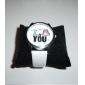Женские кварцевые часы с ремешком из искусственной кожи (белые)