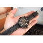 V6® Men's Military Style Black Case Silicone Band Quartz Wrist Watch Cool Watch Unique Watch Fashion Watch