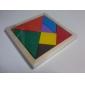 Tangram Jouet Educatif Puzzle Puzzles en bois Coloré Classique Garçon Fille 7
