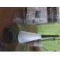 capteur tactile blanc led lampe de nuit avec un mini haut-parleur (usb/3xaaa)