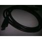 Casque HDMI (1,8 m - Doré)
