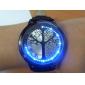 Relógio LED com Correia em Pele