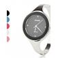 Женские Модные часы / Наручные часы Кварцевый Имитация Алмазный сплав Группа Кольцеобразный Серебристый металл марка