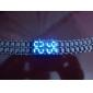 남성 스포츠 시계 디지털 LED / 달력 스테인레스 스틸 밴드 손목 시계 블랙