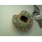 Scented Soft Donut Shaped Keychain (Assorted Colors)