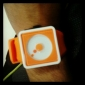 Unisex Creative Two-Dot Dial Silicone Band Quartz Analog Wrist Watch (Orange) Cool Watch Unique Watch