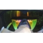 Sporty Semi-Rimless Sunglasses with UV Protection