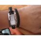 Женские Модные часы Наручные часы Часы-браслет Кварцевый Кожа Группа Богемные Черный Синий Красный Коричневый