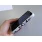Etui de Protection en Silicone Motif Cœur pour iPhone 4 - Blanc