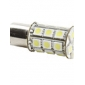 1156 6W 27x5050 SMD White Light Bulb for Car Brake Lamp (DC 12V)