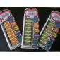 12pcs Nail Foil Art Armour Wraps Patch Stickers-Blue Series