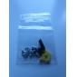 parafuso substituição set com adesivos para psp 1000