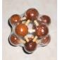 bois du cerveau iq iq teasr molécule puzzle cube magique