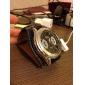 Мужские кварцевые часы с ремешком из кожзама