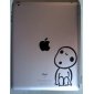 Boy Pattern Protective Sticker for The New iPad and iPad 2