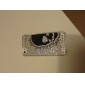 Skeleton Head Pattern with Diamond Surface Hard Case for iPhone 5/5S