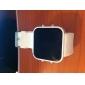 Unisex Silikon Stil LED klokke (hvit)
