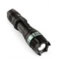 Saik SA-9 3-Mode Cree XR-E Q5 LED Flashlight (3xAAA/1x18650, Black)