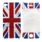 Schutzhülle für iPhone 4 und 4S (Mehrfarbig) mit Union Jack Motiv
