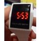 남녀공용 터치스크린 디지털 LED 고무 손목시계 (여러색상)