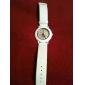 unisex pu analógico de pulso de quartzo relógio gz1122 (branco)