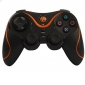 trådløs Dual Shock-kontrolleren for PS3 (orange)