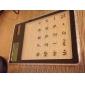 Прозрачный настольный калькулятор с сенсорной панели (разные цвета)