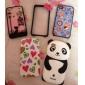 Case de Protecção com Laço para iPhone 4 e 4S (Laços e Cores Sortidas)