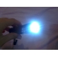 Mini Aluminum 9 LED Flashlight (3x10440/3xAAA, Random Color)