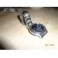 Мужской Нарядные часы Кварцевый сплав Группа Серебристый металл