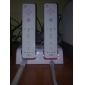 Rechargeable Dual USB Charging Dock/Stand/Station with Two Rechargeable Batteries (2800mAh) for Wii