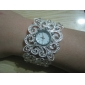 Women's Watch Fashionable Flower-shaped Alloy Bracelet Cool Watches Unique Watches Strap Watch